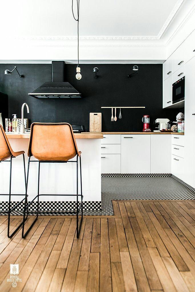 Cocinas abiertas en viviendas de espacios pequeños_1
