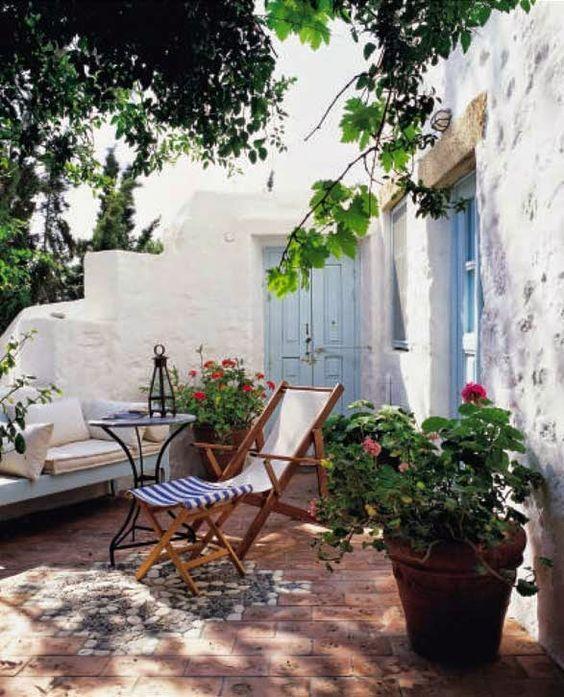 patio mediterráneo
