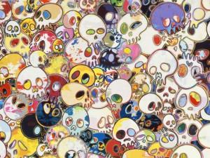 takashi-murakami-flowers-skulls-gagosian-gallery-5