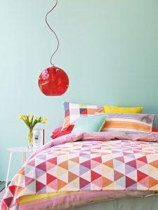 estilo geométrico textiles