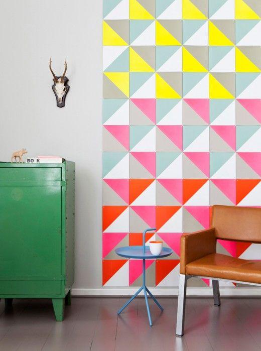 estilo geometrico paredes
