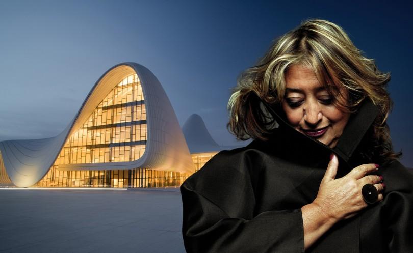 Zaha-Hadid. 5 creativas que han dejado huella en la historia.