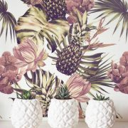 decorar tu casa en primavera tropical print
