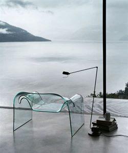 salone del mobile gost sillon de cristal
