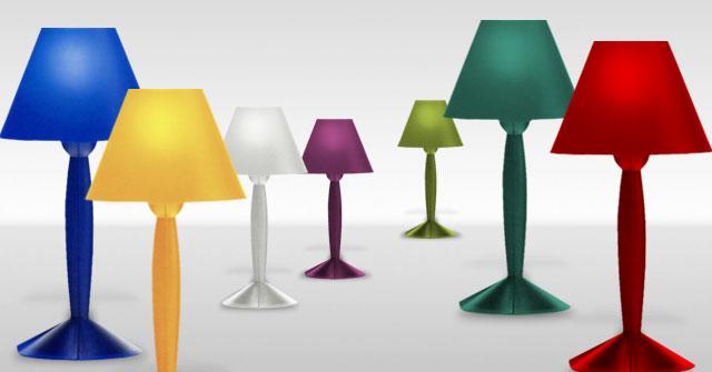 missi sissi lámpraras de mesa icónicas