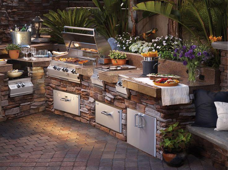 cocina al aire libre