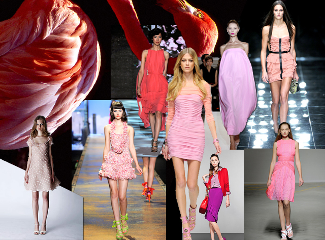 diseño interior moda flamingo style