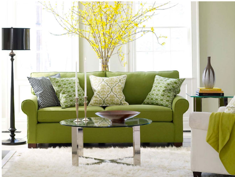 diseño interior moda greenery deco