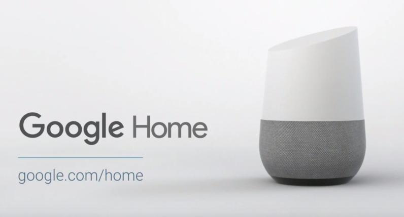 google home futuro del diseño de interior