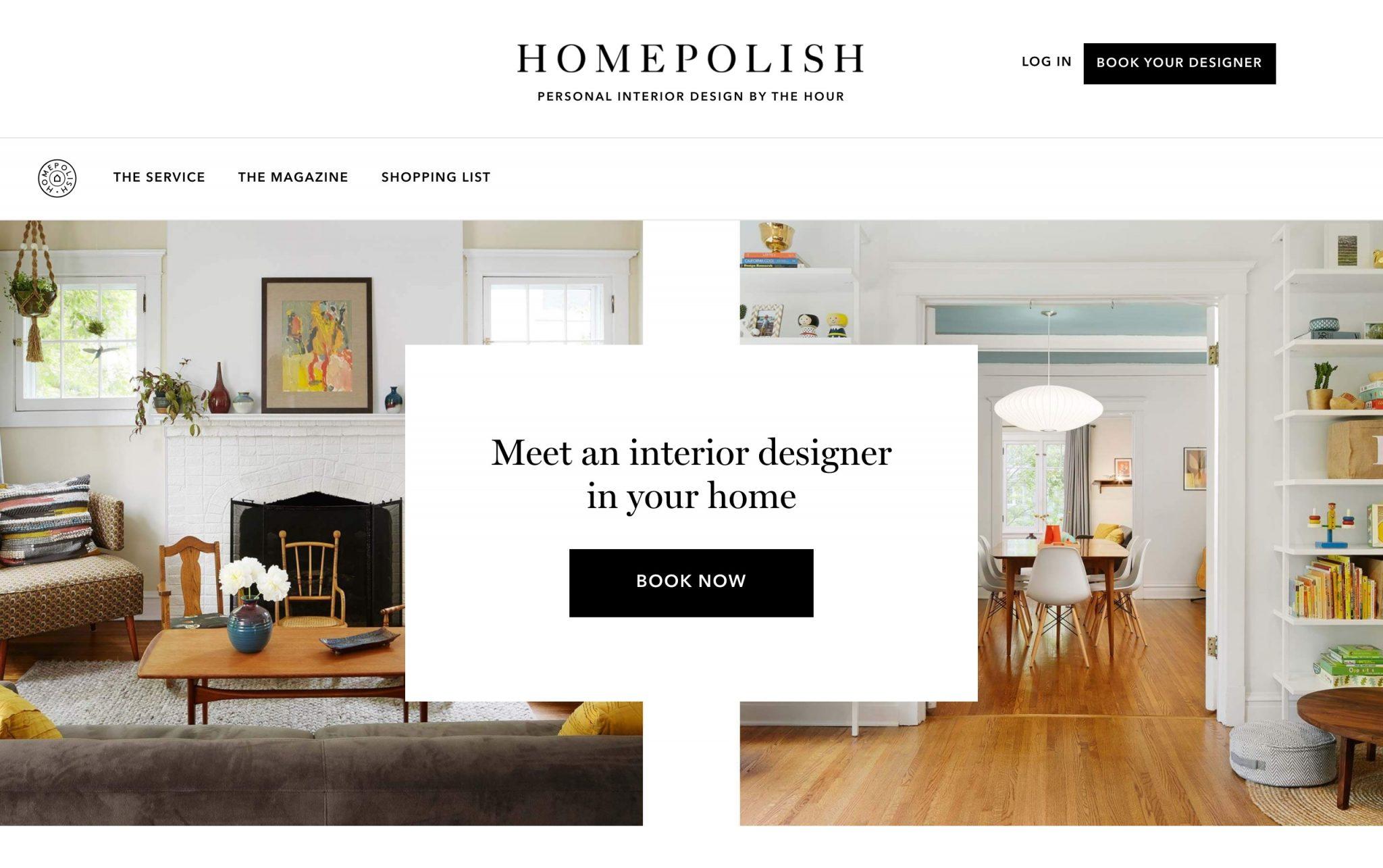 homepolish futuro del diseño de interior