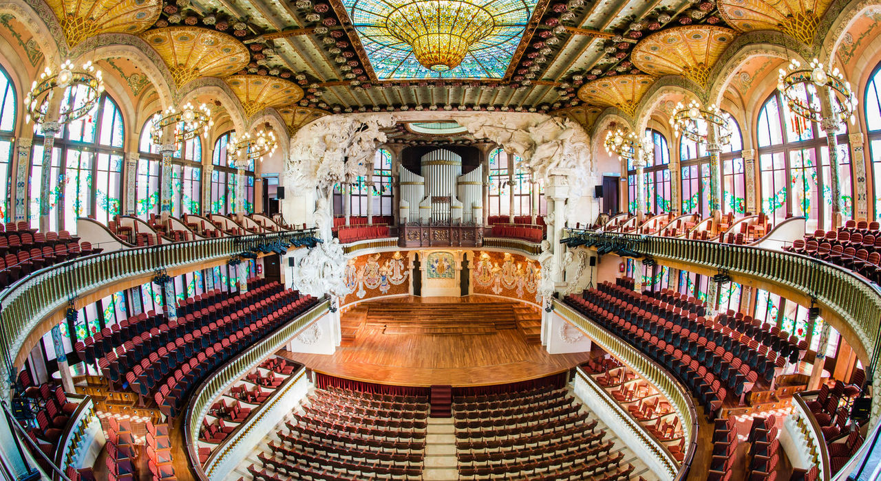 modernismo catalan palau de la musica catalana