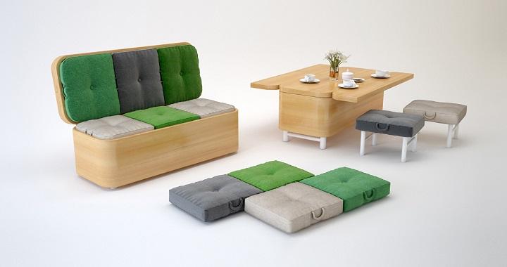 ideas para redecorar pisos pequeños.