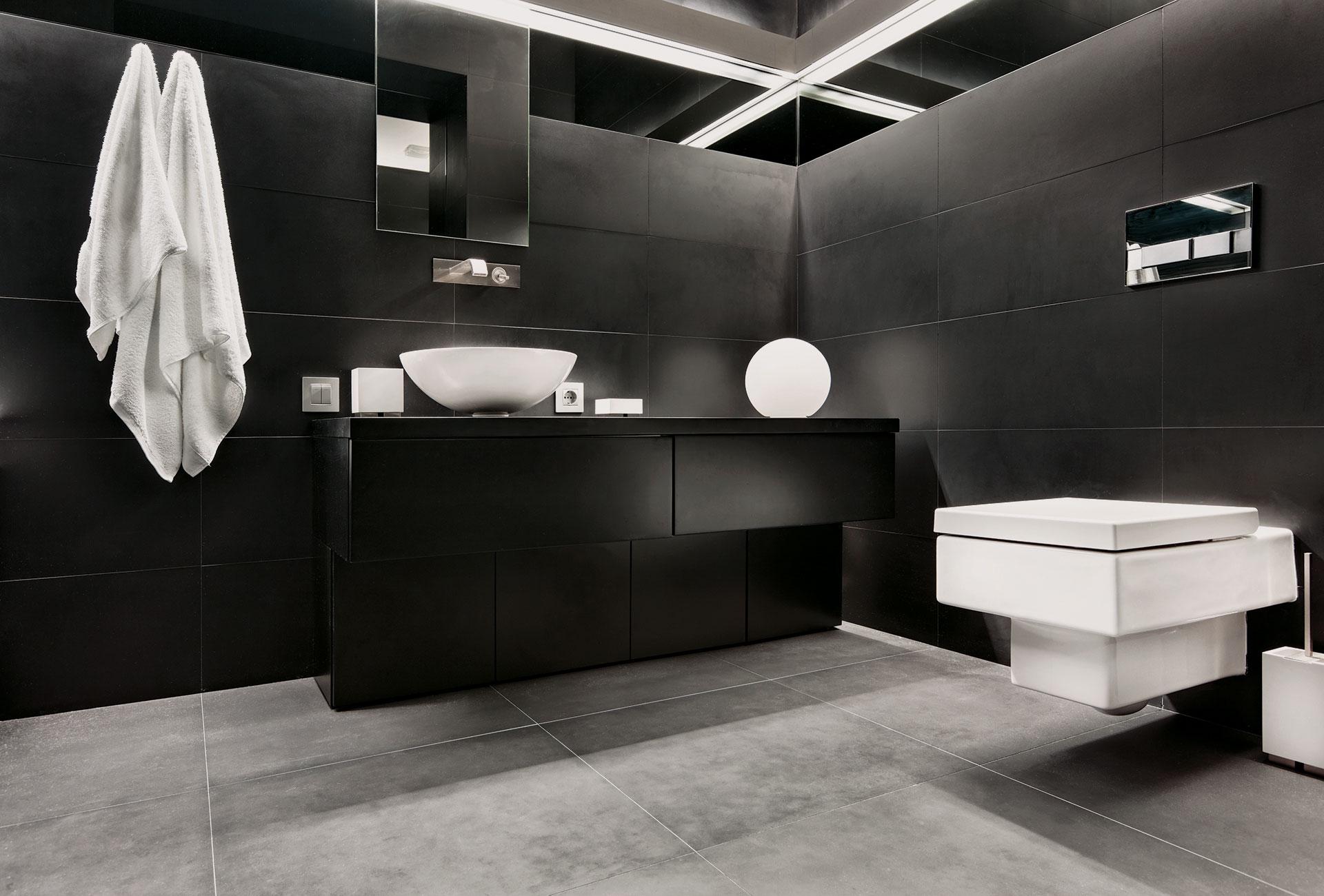 interiores con colores obscuros