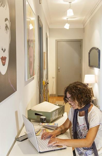 foto decoracion de un piso en barcelona